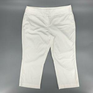 Worthington Modern Fit Cropped Capri Pants Sz 14